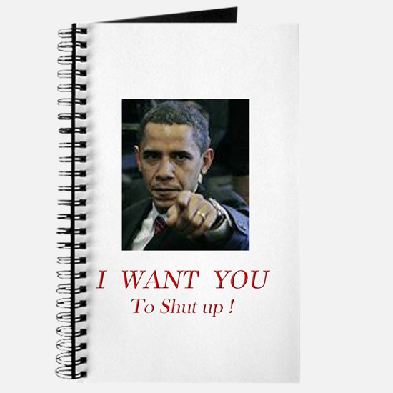 I Want You! to shut up! Journal
