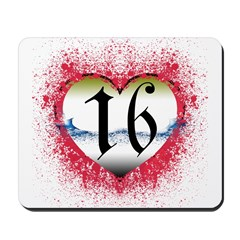 Gothic Heart 16th Mousepad