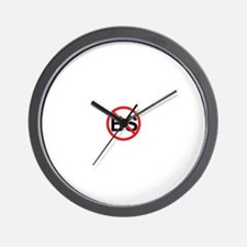 No BS ! Wall Clock