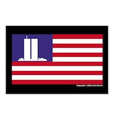 WTC Memorial Flag Postcards (Pack of 8)