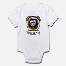 Found It! Geocaching Infant Bodysuit