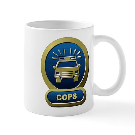 COPS Morning Coffee Mug