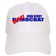 John Kerry Defeatocrat Baseball Cap