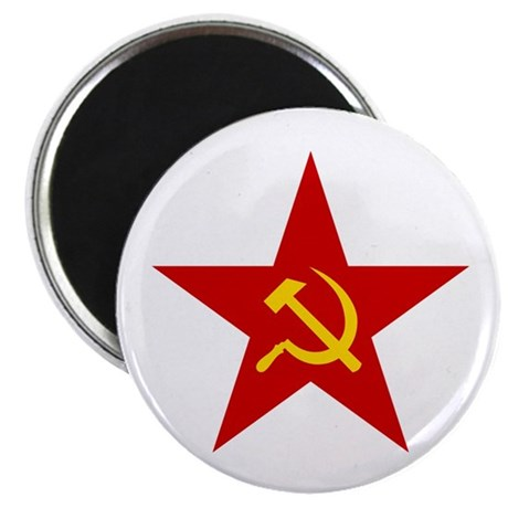 Communist Star Magnet