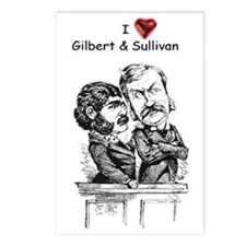 Love G&S postcards (8-pack)