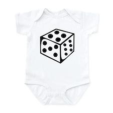 Dice - Four Infant Bodysuit