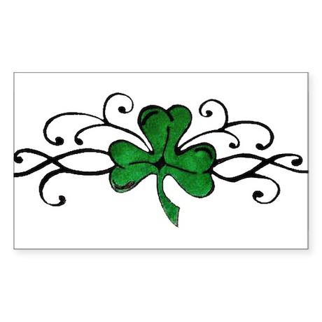 Lucky Rectangle Sticker