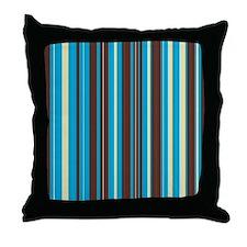 Cute Vertical stripes Throw Pillow