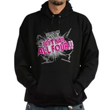 Nail all Four Hoodie