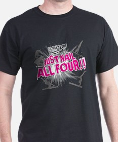 Nail all Four T-Shirt