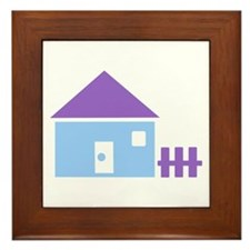 House - Real Estate Framed Tile