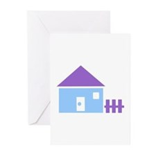House - Real Estate Greeting Cards (Pk of 20)