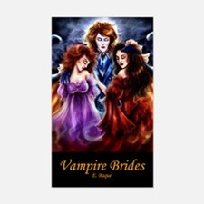 Vampire Brides Rectangle Decal
