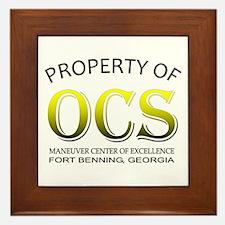 Property of OCS MC Framed Tile