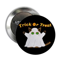Halloween Ghost Cat 2.25