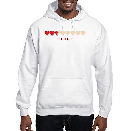 life bar Hooded Sweatshirt
