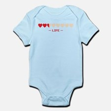 life bar Infant Bodysuit