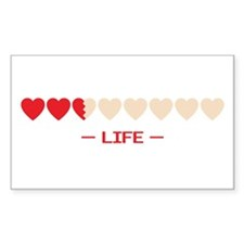 life bar Rectangle Decal