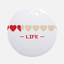 life bar Ornament (Round)