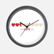 life bar Wall Clock