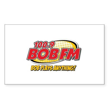 BOB FM Rectangle Sticker