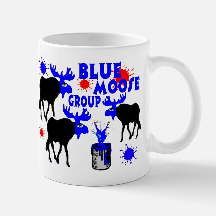 Blue Moose Group Mug