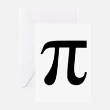 Pi Greeting Cards (Pk of 20)