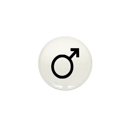 Male Mini Button (10 pack)