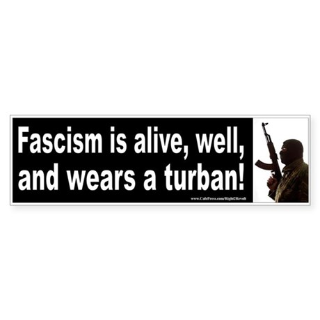 Fascism (sticker)