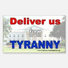 Deliver us (sticker)