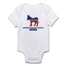 Asses Infant Bodysuit