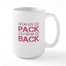 Once you go Pack ... pink/ora Mug