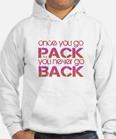Once you go Pack ... pink/ora Hoodie