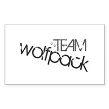 Team WOLFPACK Rectangle Decal
