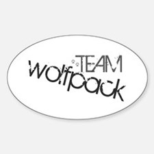 Team WOLFPACK Oval Decal