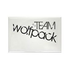 Team WOLFPACK Rectangle Magnet