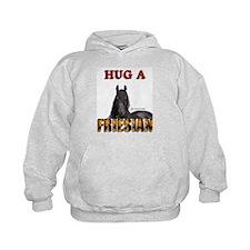 """Hug a Friesian"" Hoodie"
