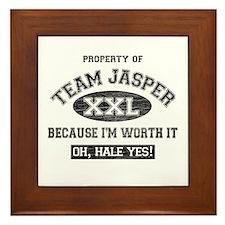 Property of Team Jasper Framed Tile