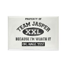 Property of Team Jasper Rectangle Magnet