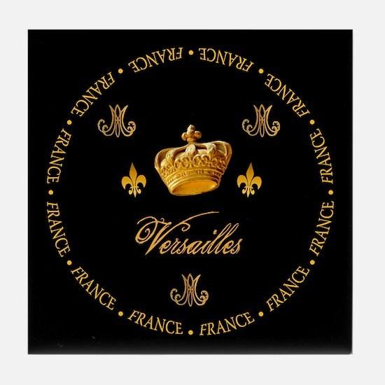 """Versailles-France 1"" Tile Coaster"