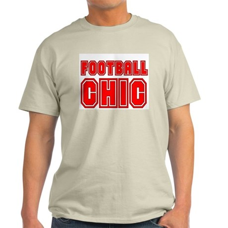 FOOTBALL CHIC CHICK DANI SURV Ash Grey T-Shirt