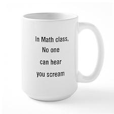 math scream Mug