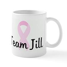 Team Jill pink ribbon Mug