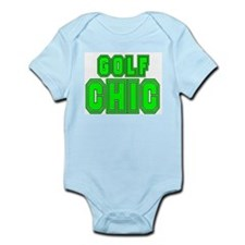 GOLF CHIC SHIRT Infant Creeper