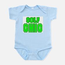 GOLF CHIC SHIRT Infant Creeper