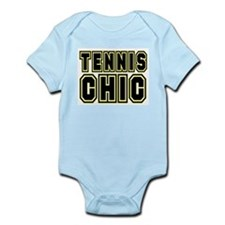 TENNIS CHIC CHICK SHIRT TEE T Infant Creeper