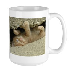 Orange Tabby Kitten Mug