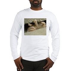 Orange Tabby Kitten Long Sleeve T-Shirt