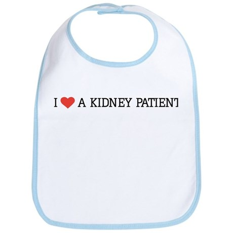 I Love a Kidney Patient Bib