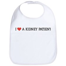 I Love a Kidney Patient Bib